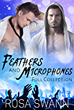 Feathers and Microphones [Full Collection]: Gay Fallen Angel and Rock Star Romance