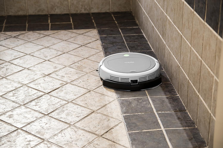 Accesorio friega suelos con mopa de microfibra. Robot aspirador compatible: Conga, Conga Slim y Conga Slim 890. Friega el suelo y pasa la mopa.