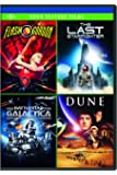 Flash Gordon / The Last Starfighter / Battlestar Galactica / Dune (4 Feature Films)