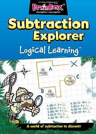 BrainBox - Subtraction Explorer, Juego de Mesa en inglés (47052 ...