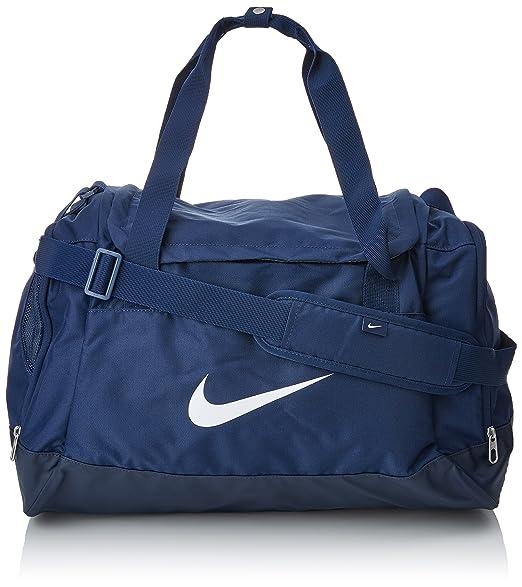 49 opinioni per Nike Club Team Swoosh Duffel S Borsone, 40 cm, 43 liters, Blu (Dunkelblau)