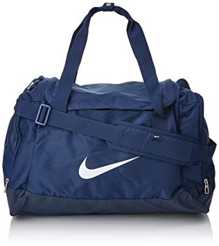 Nike Club Team Swoosh Duffel S Sac de sport grand format, 40 cm, 43 liters, Rouge (Rot)