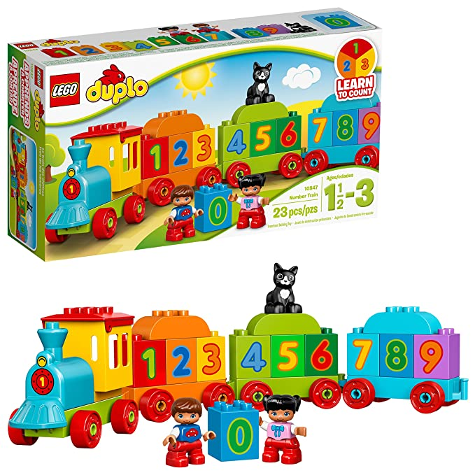 LEGO DUPLO My First Number Train 10847 Preschool Toy approx. $18