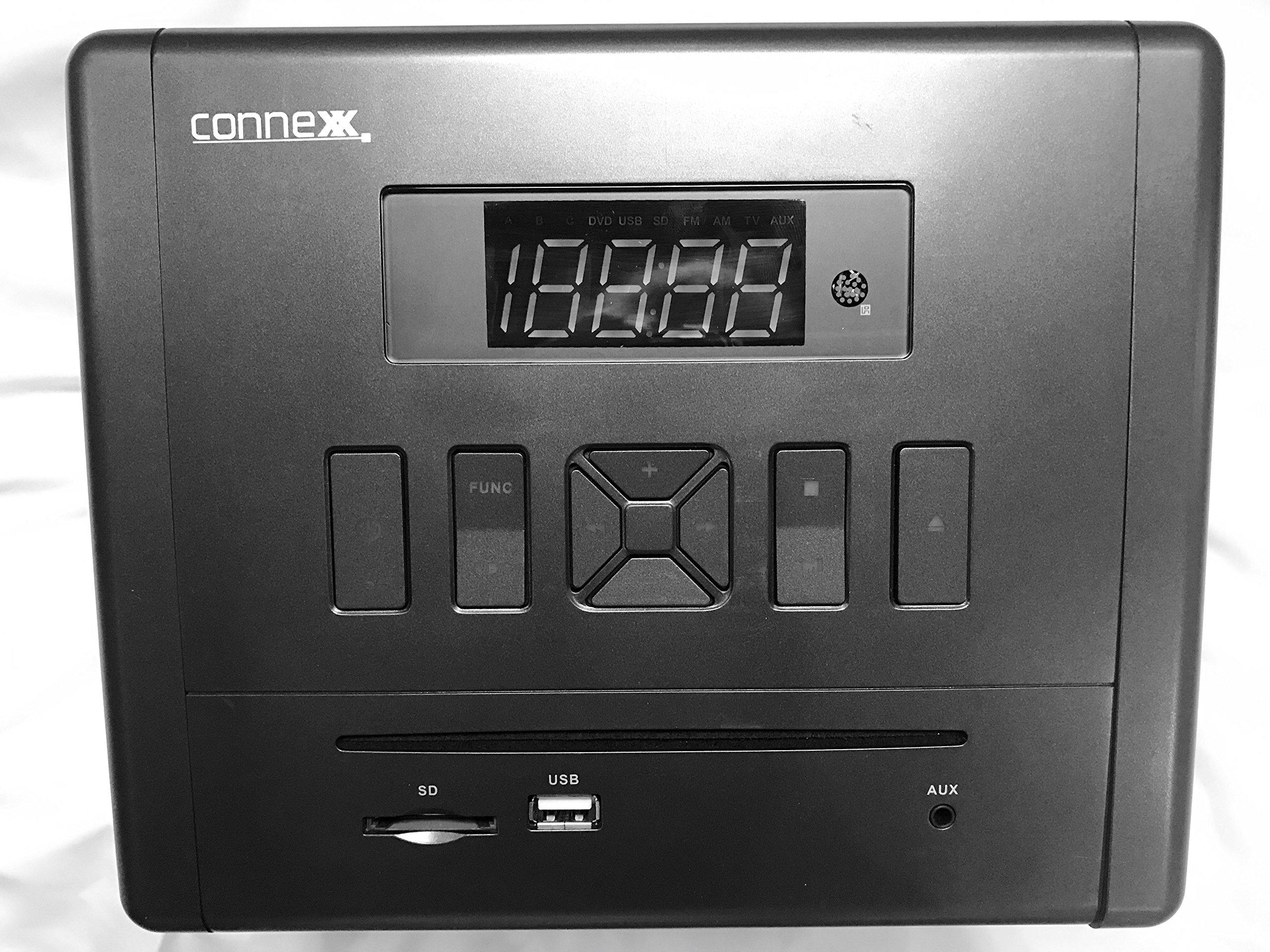 Connexx RP-3000BT HDMI/Bluetooth/DVD/CD/USB/AUX/AM/FM RV Radio