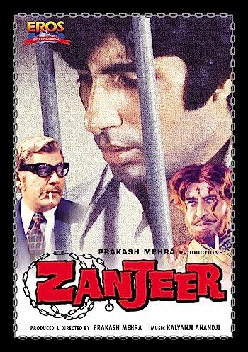 Zanjeer 1973 Full Hindi Movie Download 480p 300MB DVDRip
