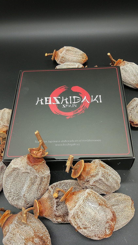 HOSHIGAKI (Caqui Seco) 100% Natural - Elaborado artesanalmente - Caja de 6 unidades: Amazon.es: Alimentación y bebidas
