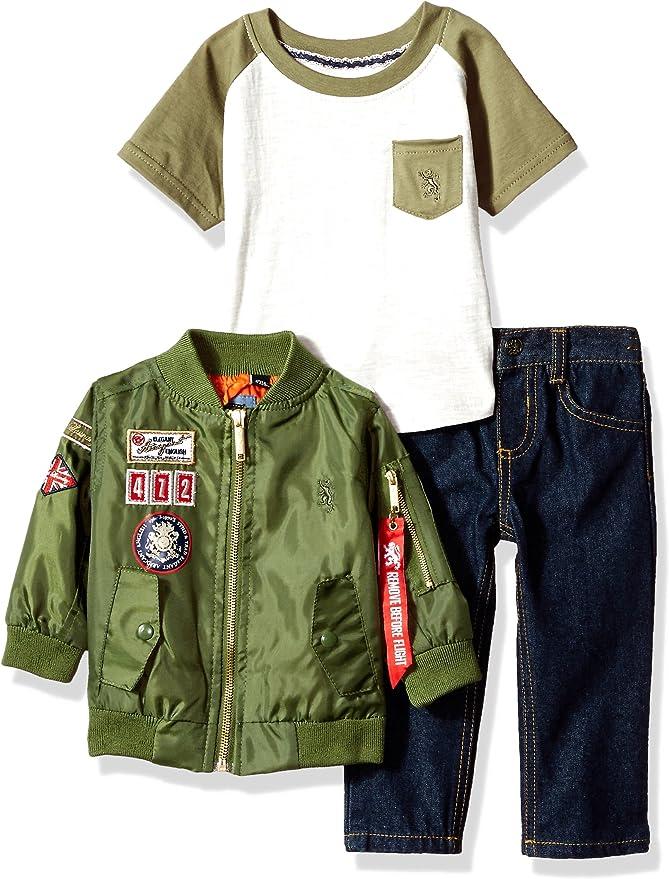 4T Details about  /Infant//Toddler Boys English Laundry $39 2pc Shirt//Jogger Pants Set Sz 12m