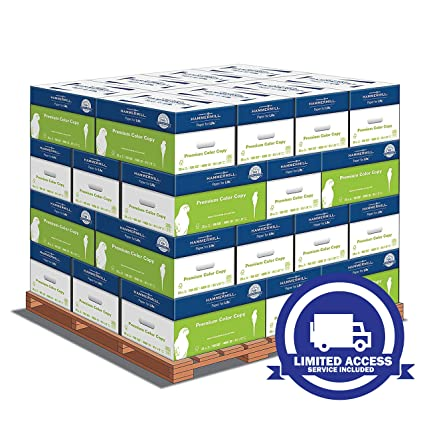 Hammermill Paper, Premium Color Copy Paper Pallet With Limited Access  Delivery (SERVICE INCLUDED)8 5 x 11 Paper, Letter Size, 28lb Paper, 100  Bright,