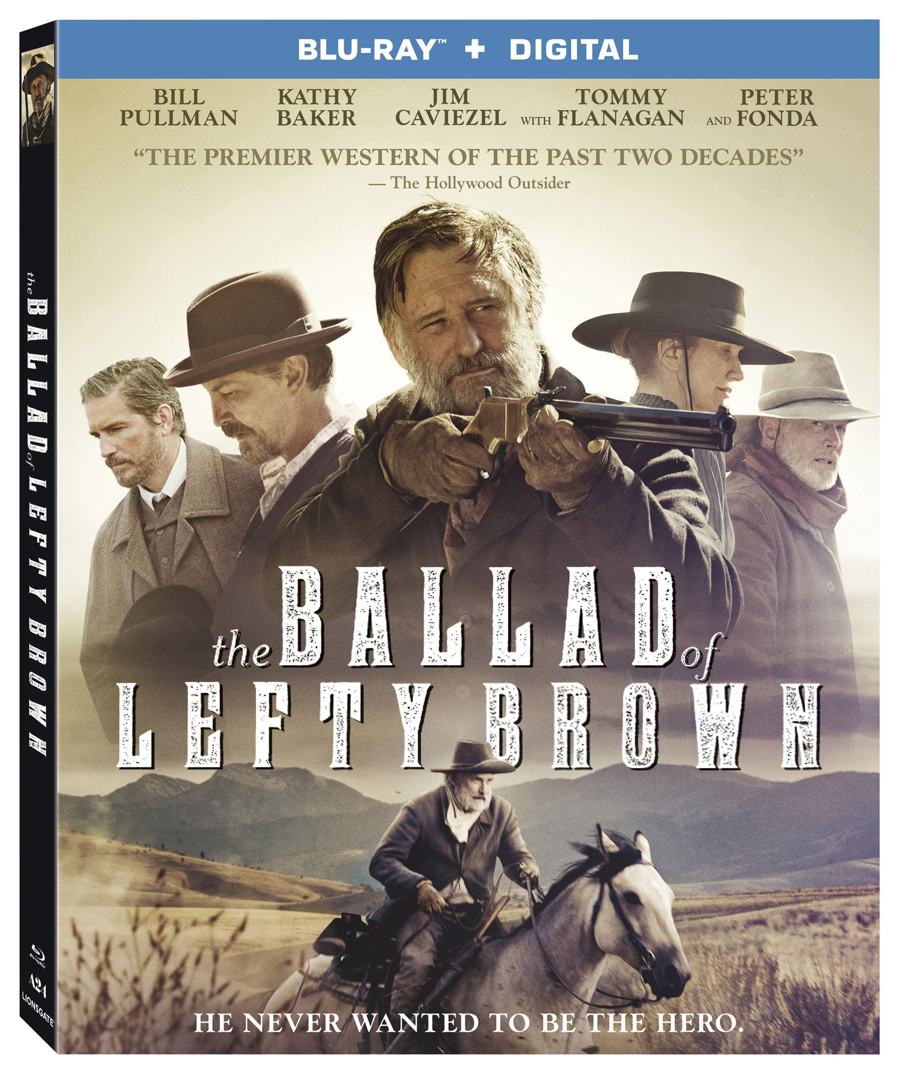 Blu-ray : The Ballad of Lefty Brown (Widescreen, AC-3, Digital Theater System, , Digitally Mastered in HD)