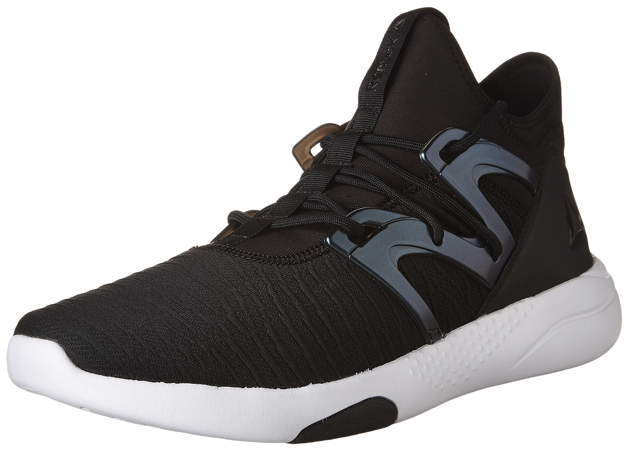 Reebok Women's Hayasu Ltd Sneaker, Black/Oil Slick/White/Vic, 6 M US