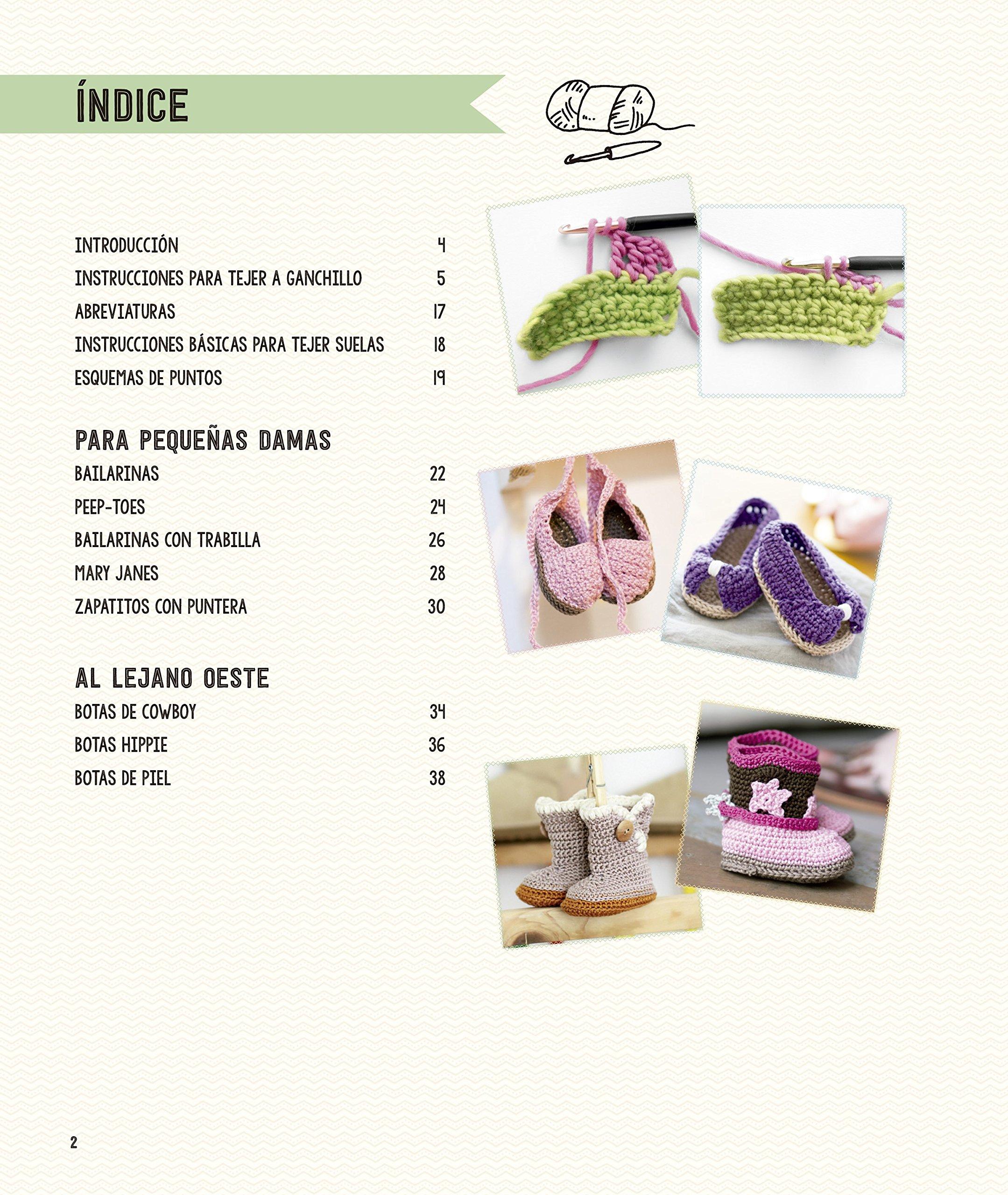 Patucos De Ganchillo Para Bebes: Amazon.es: Lucia Förthmann ...
