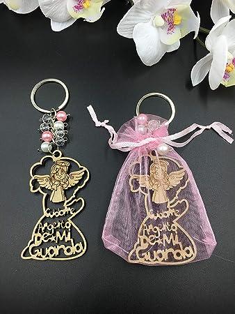 Amazon.com: 12 llaveros de ángel de la guarda con diseño de ...