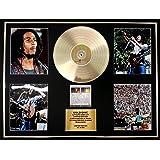 BOB MARLEY/CADRE GEANT DISQUE D'OR CD, VINYLE & PHOTOS/EDITION LIMITEE /CERTIFICAT D'AUTHENTICITE/BABYLON BY BUS