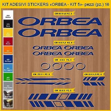 Kit Pegatinas Stickers Bicicleta ORBEA - Kit 5-16 Piezas- Bike ...