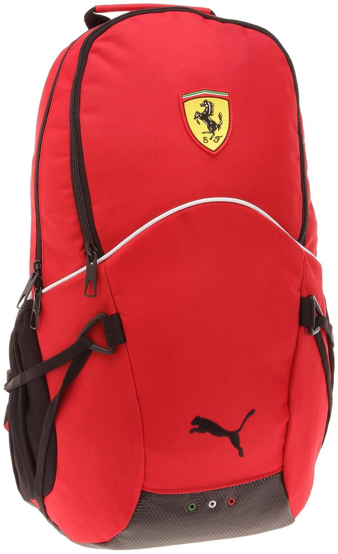 Puma Rucksack Ferrari Replica, 29.5x48x20 cm rosso corsa-white-black 070034 01 070034-01