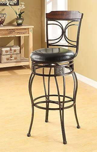 ACME 96047 Set of 2 Tavio Swivel Bar Chair