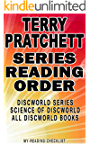 TERRY PRATCHETT: SERIES READING ORDER: MY READING CHECKLIST: DISCWORLD SERIES, THE SCIENCE OF DISCWORLD SERIES, TERRY PRATCHETT'S OTHER BOOKS BASED ON DISCWORLD