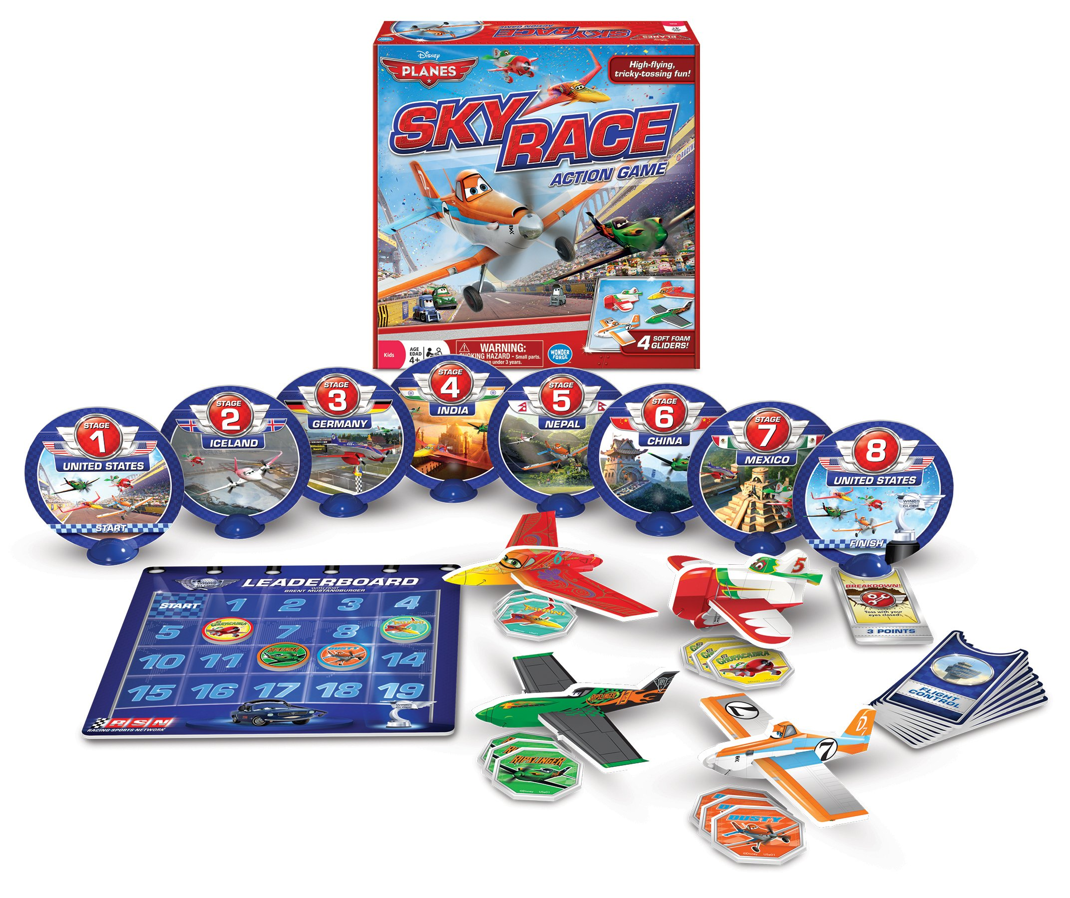 Disney Planes Sky Race Game, Red by The Wonder Forge (Image #2)