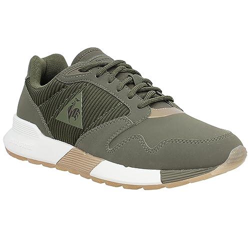 Le Coq Sportif Omega X W Stripped Sock Metallic Olive 1721179, Deportivas: Amazon.es: Zapatos y complementos