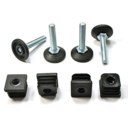M10 Threaded Insert for benches tables and box section 40x40mm Sq Pack of 12