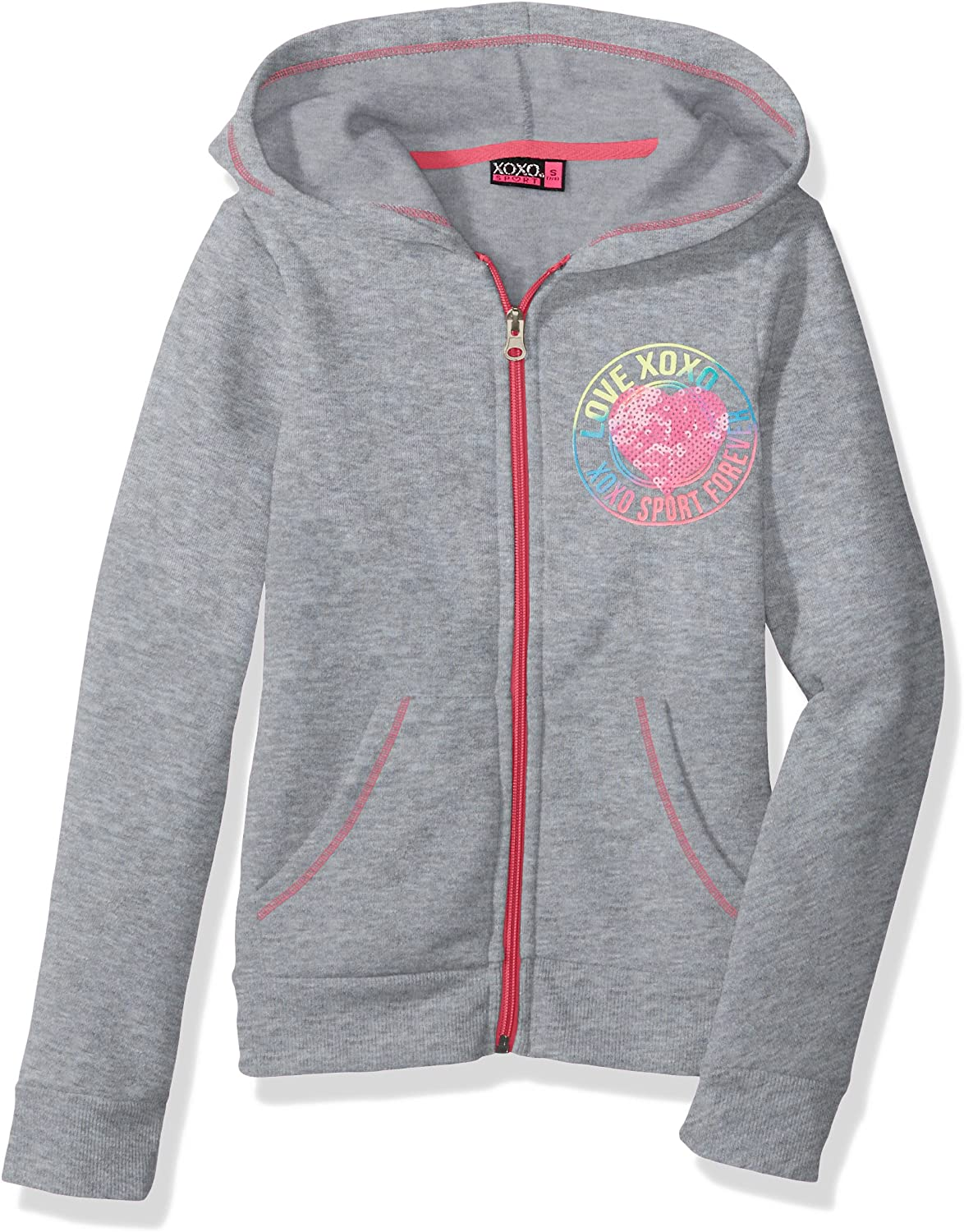 XOXO Girls Big Fleece Logo Hoodie