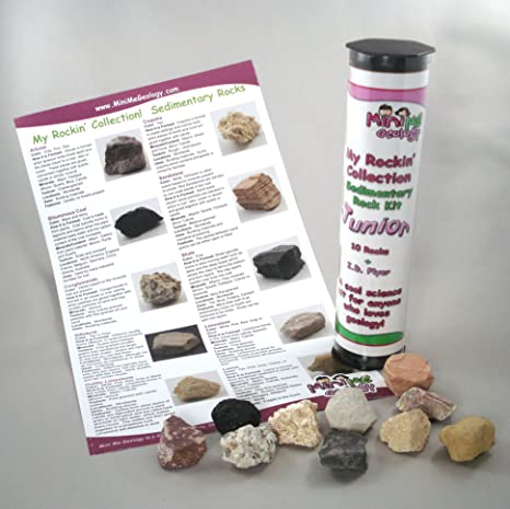 My Rockin' Collection Sedimentary Rock Kit Junior - Geology Collection