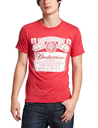 d01dff01ea4dfa Amazon.com  Mad Engine Men s Budweiser Old Timer T-Shirt