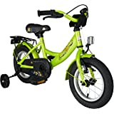 BIKESTAR® Premium Vélo pour enfants à partir d'env. 3 ★ Edition Classic 12 ★ Couleur Vert