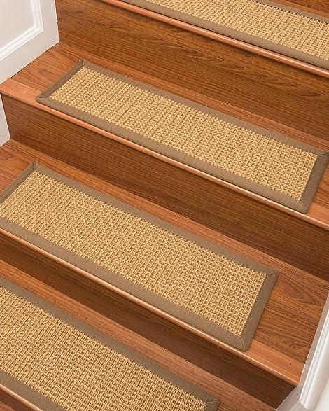 NaturalAreaRugs Russell Sisal Carpet Stair Treads 9u0026quot; X 29u0026quot; ...