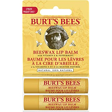 powerful Burt's Bees Natural Moisturising Lip Balm
