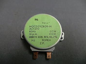 Kenmore 502489 para plato giratorio del microondas motor ...