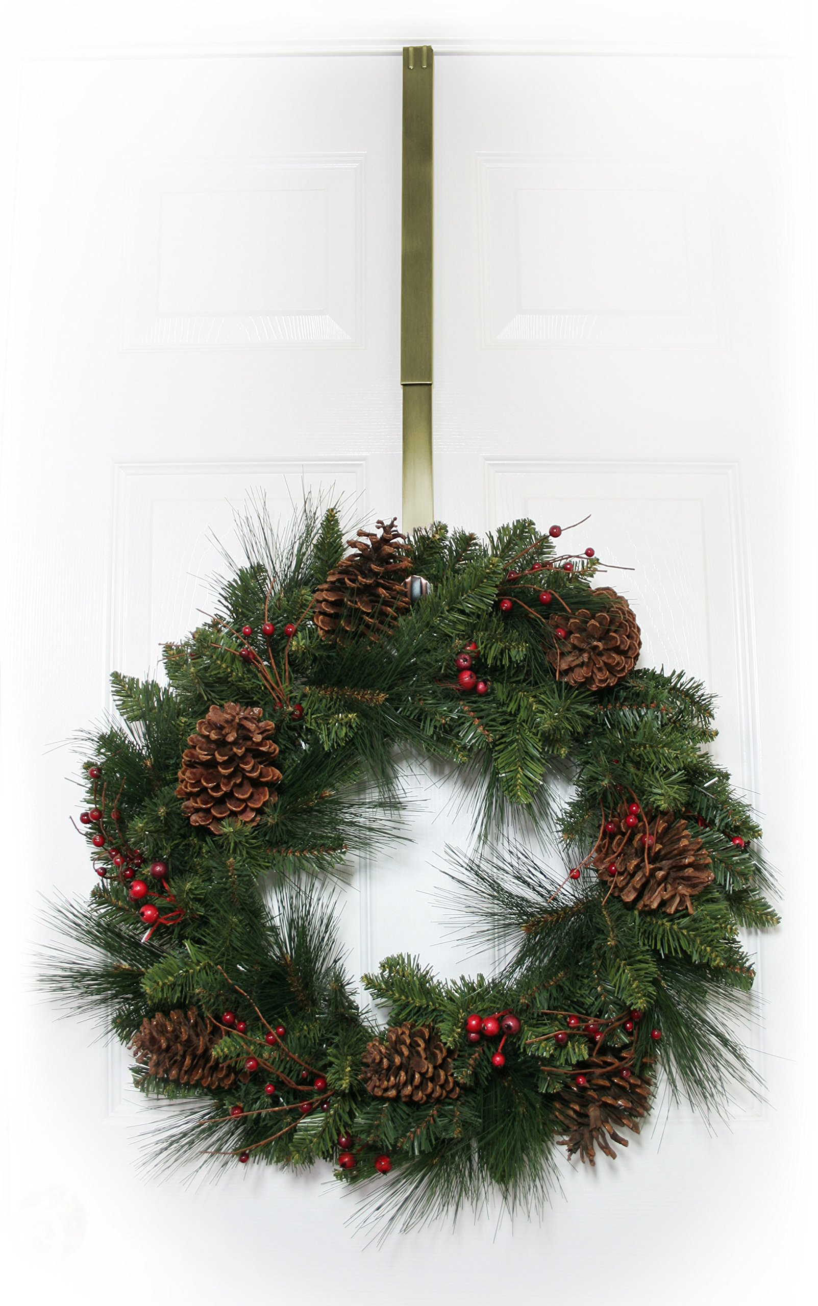 Adjustable-Wreath-Hanger-Antique-Brass