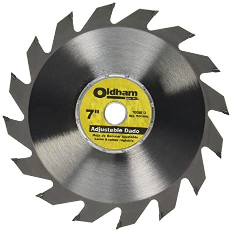 dewalt dado blade. porter-cable 7005012 oldham 7-in adjustable dado blade dewalt d