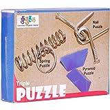 Triple Puzzle. Presentation/Demonstration Skill Builder. Return Gift. Birthday Gift.