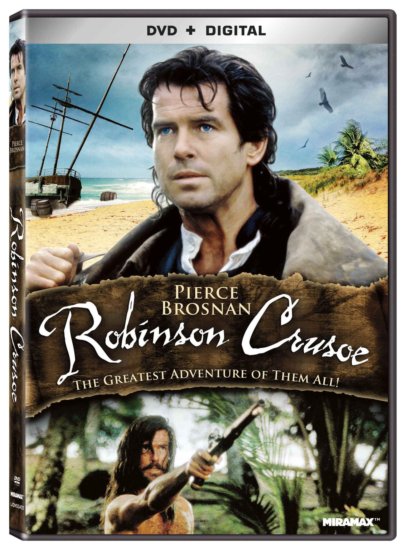 DVD : Robinson Crusoe (DVD)
