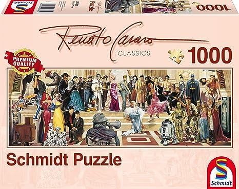 Hollywood Renato Casaro 1.000 Teile Puzzle Spiel Deutsch 2017