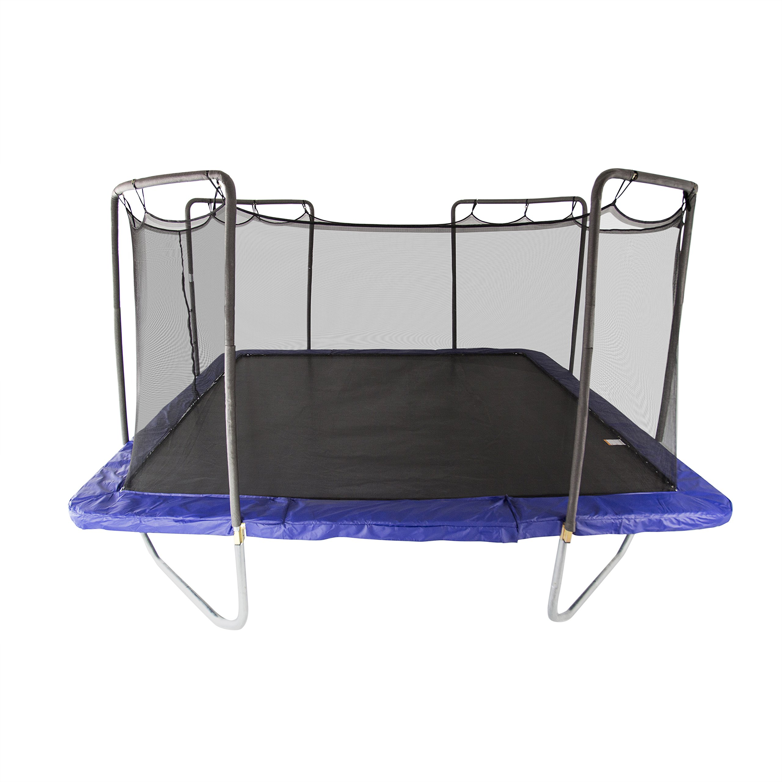 Skywalker Trampolines 15-Foot Square Trampoline with Enclosure Net - Added Safety Features - Meets or Exceeds ASTM - Made to Last - Extra Jumping Space by Skywalker Trampolines