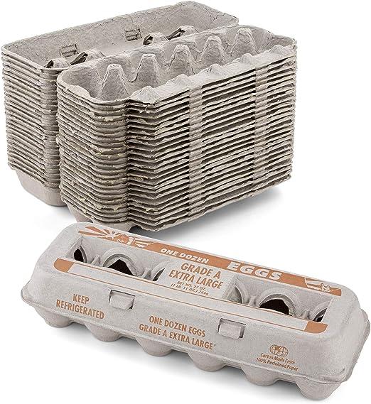 MT Products - Caja de cartón de huevos de pulpa natural con ...