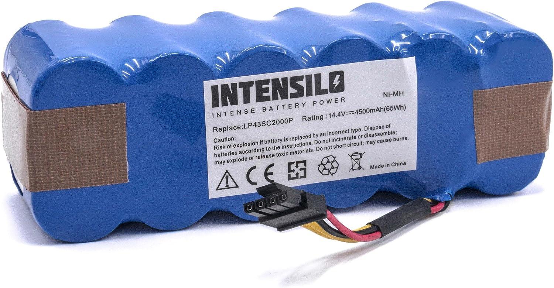 vhbw Batería NiMH 4500mAh (14.4V) para robot aspidador doméstico Ariete Briciola 2712, 2717 como LP43SC2000P.: Amazon.es: Hogar