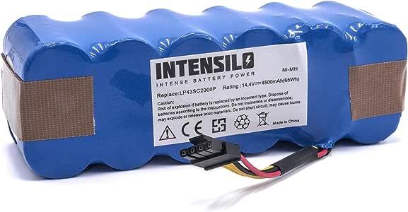 vhbw Batería NiMH 4500mAh (14.4V) para robot aspidador doméstico ...