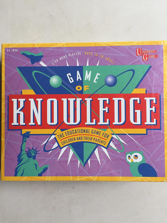 minorista de fitness University Games Game Game Game of Knowledge by University Games  buen precio