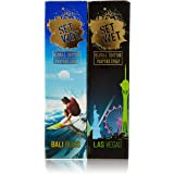 Set Wet Global Edition Bali Bliss with Las Vegas Live Perfume Spray, 120ml (Pack of 2)
