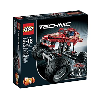 LEGO Technic 42005 Monster Truck: Toys & Games [5Bkhe0304545]