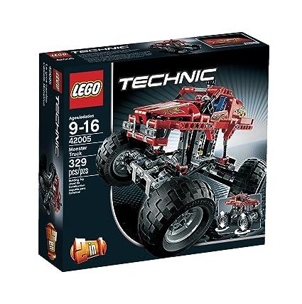 Amazon.com: LEGO Technic 42005 Monster Truck: Toys & Games