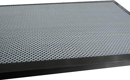 Panal de trabajo cama mesa CO2/l/áser grabado para m/áquina de cortar de tubo de 40/W 50/W 60/W 300/x 200/mm mesa agujero opcional