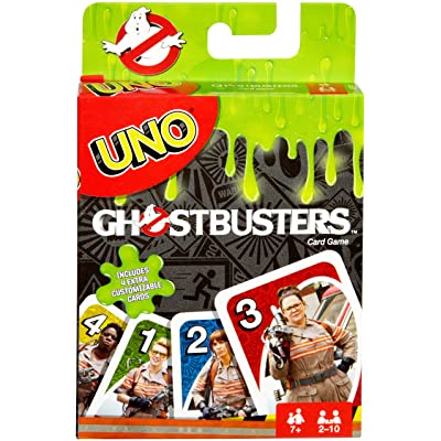 Mattel Games UNO Ghostbusters Edition: Toys & Games
