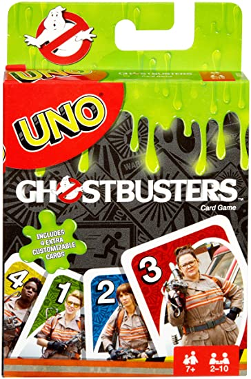 Amazon Mattel Games Uno Ghostbusters Edition Toys Games