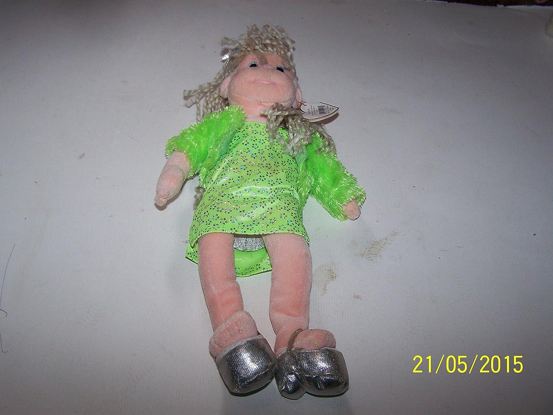Ty 2002 Beanie Boppers Glitzy Gabby 12 Doll Pasadena Birthday Mar 21 Calif