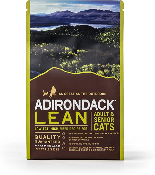 Top 10 Adirondack Lean Adult Dry Cat Food