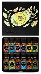 Edens Garden Essential Oils Set (100% Pure Therapeutic Grade Essential Oils) 12/ 10 ml